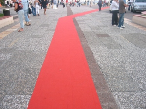 Opportunity to walk the red carpet in Cannes
