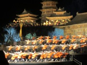 Zen Music Show in the open air theatre