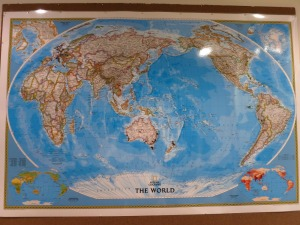 Pinning to our map of the world
