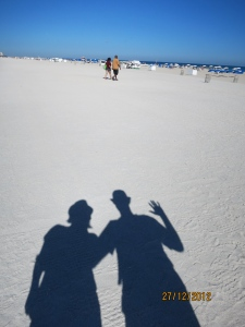White sands of Miami Beach