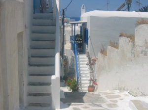 Alley ways of Mykonos