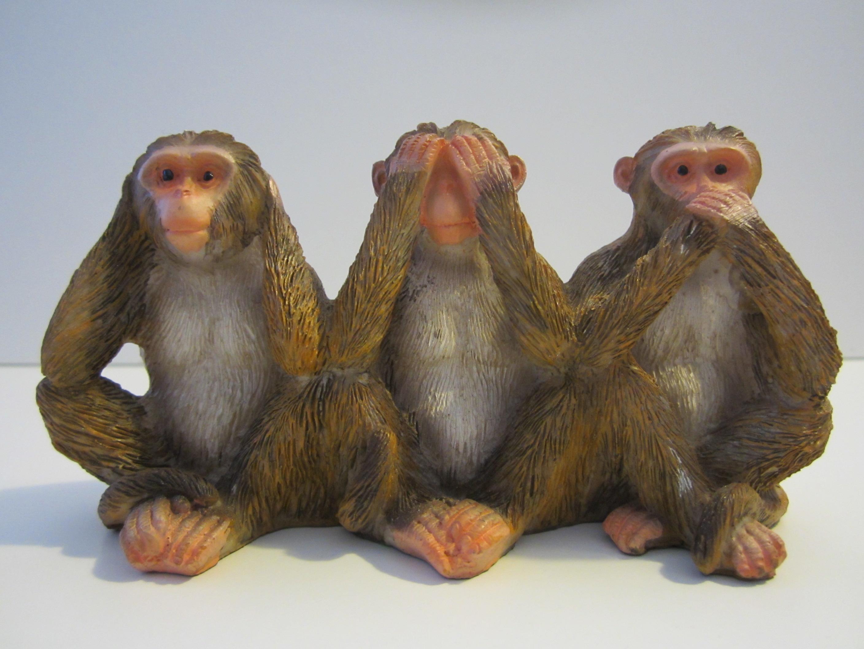 Monkey Gallery 171 Wise Monkeys Abroad