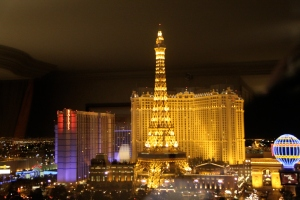 View from our room in the Bellagio