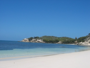 Our secluded beach at Rottnest Island
