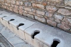 Yep, those were the public toilets