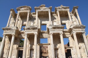 The Ephesus library