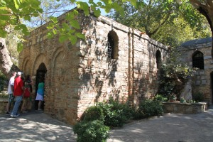 Visiting the Virgin Mary's House was a very peaceful and spiritual experience