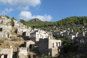 Careful not to get lost in Kayakoy, the ancient deserted Greek town