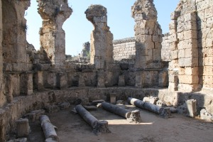 Ancient ruin number 6: Perge