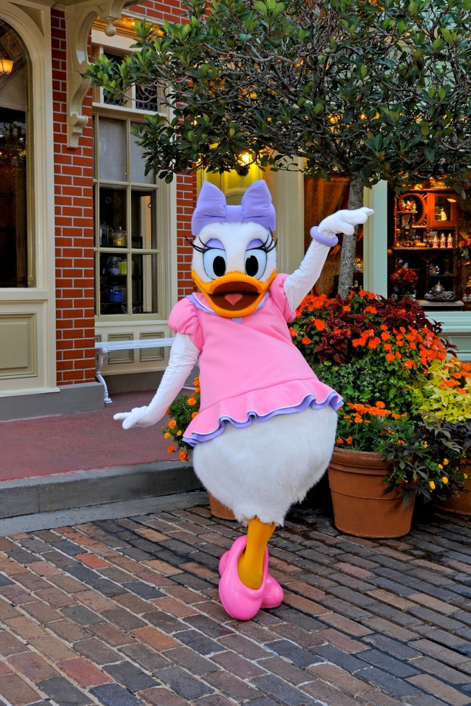 Daisy Duck in DisneyWorld
