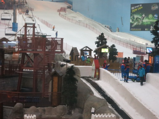 The famous ski slope