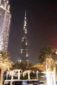The tallest building - Burj Khalifa