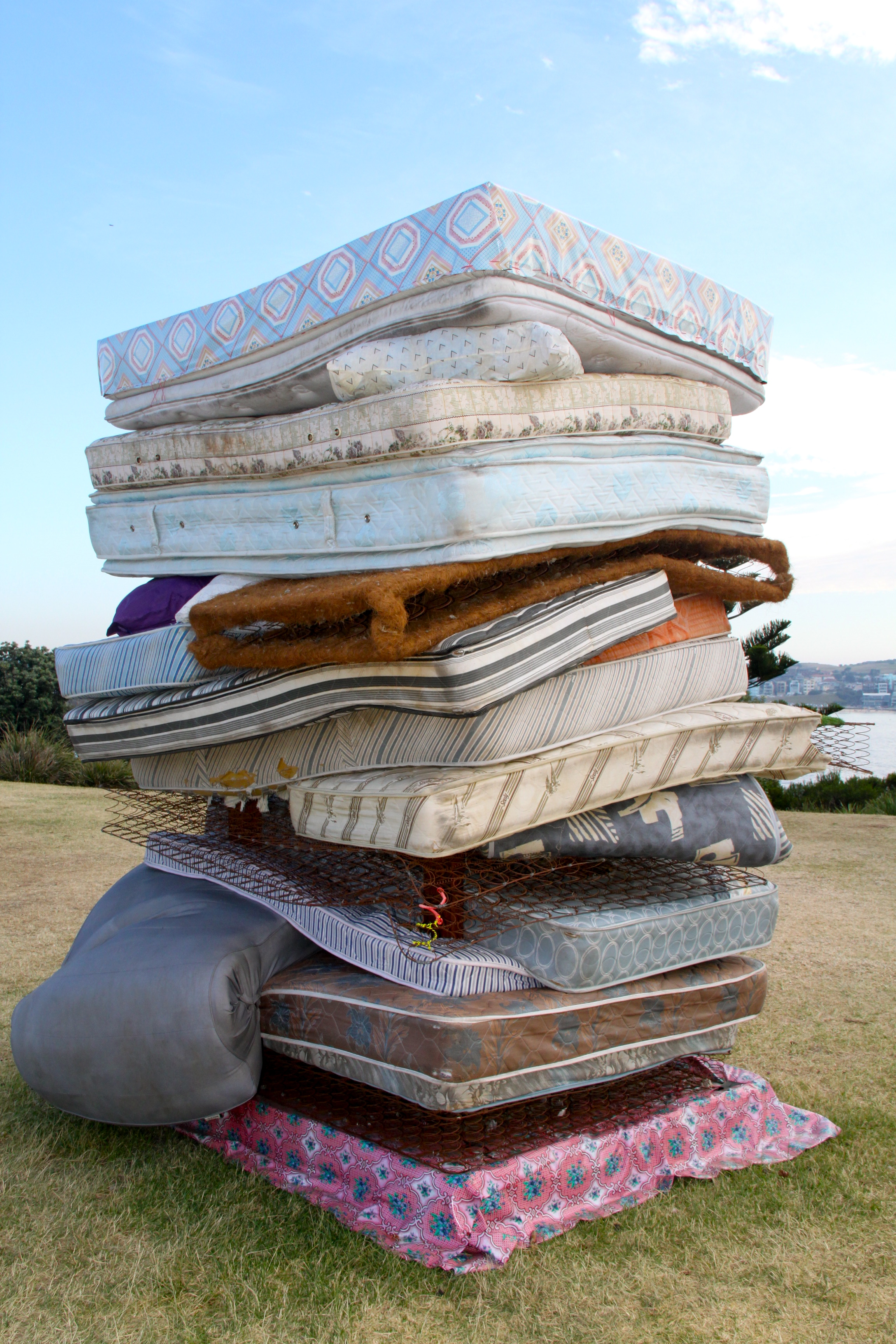 pile of mattresses. There Is A Pea At The Bottom Of That Mattress Pile Mattresses G