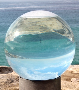 Looking in the crystal ball - if you look closely, do you see a someone on a paddle board?