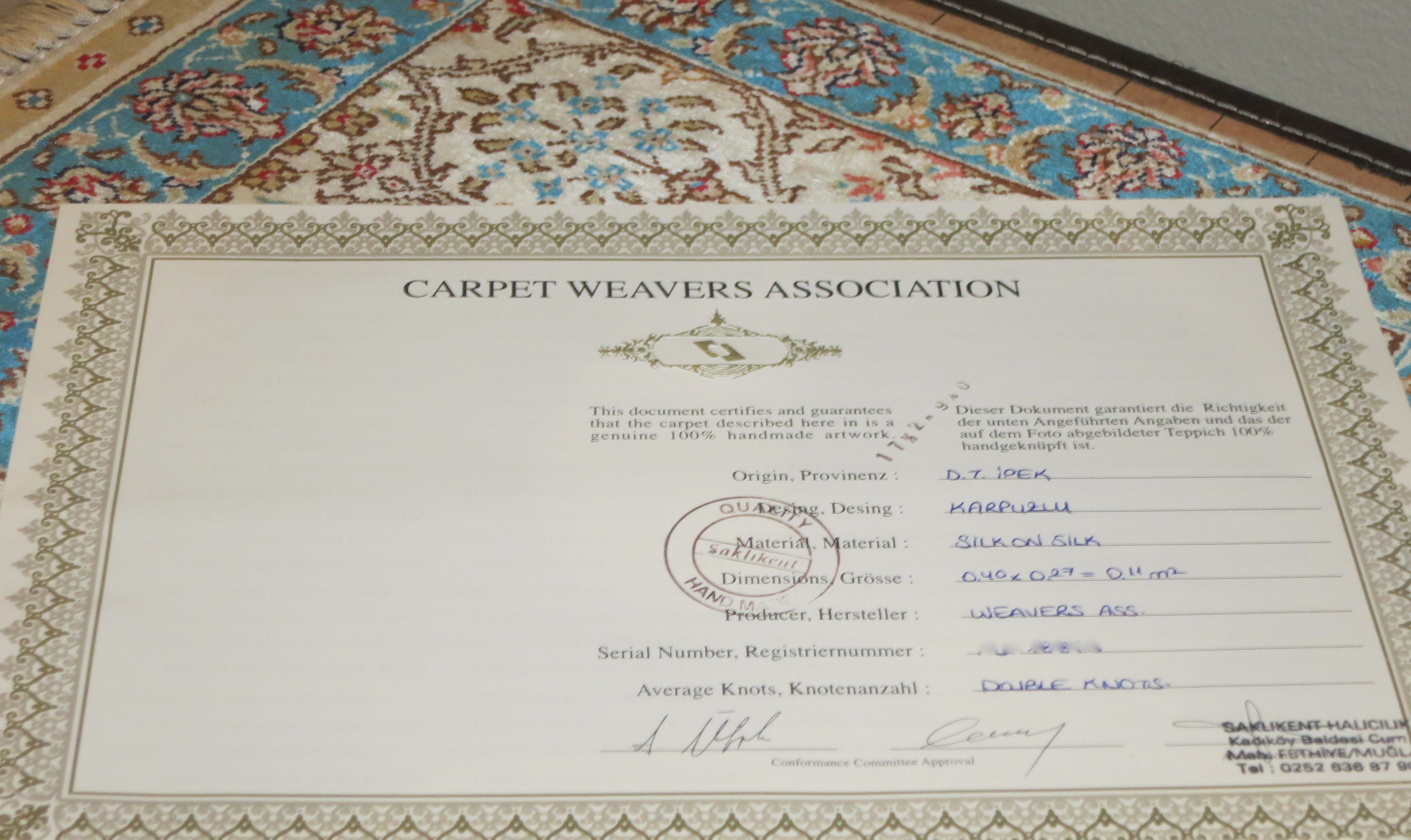 Buying A Turkish Rug Genuine Or Not 171 Wise Monkeys Abroad