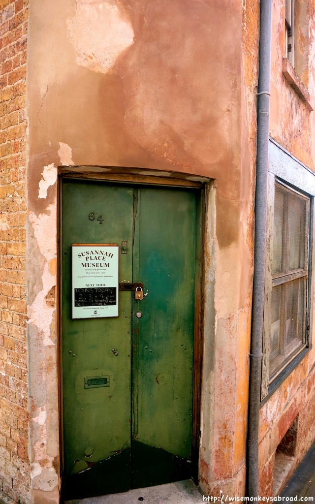 The entrance to Susannah's place - unfortunately it was closed.