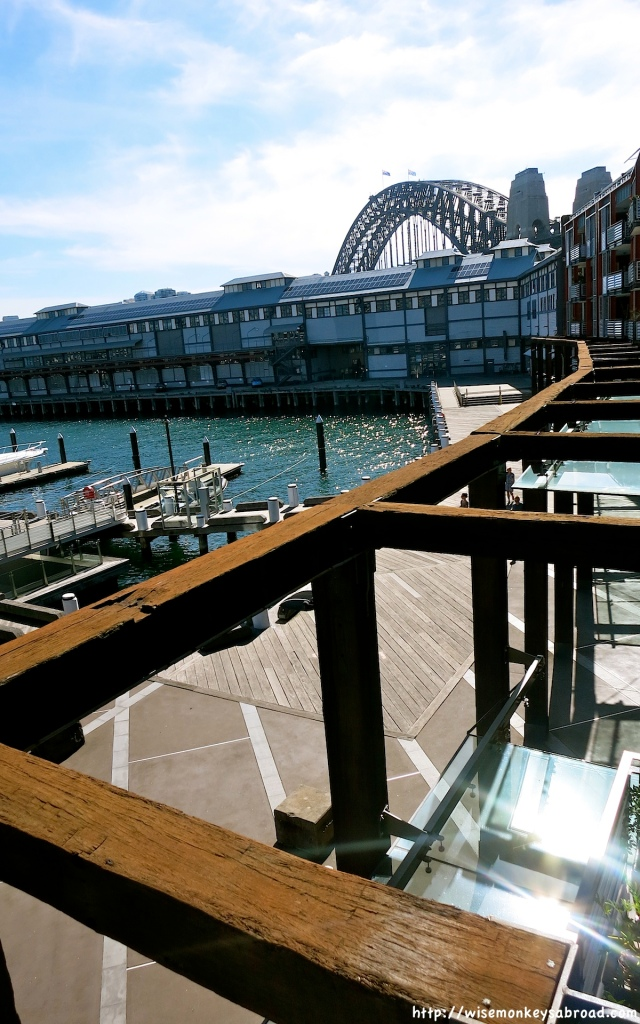 Walsh Bay Wharves - established in 1901 to contain the chaos at Sydney's waterfront