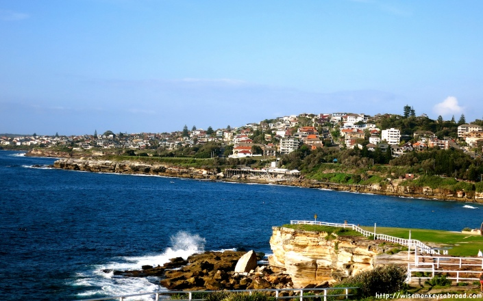 Looking towards Maroubra from Coogee