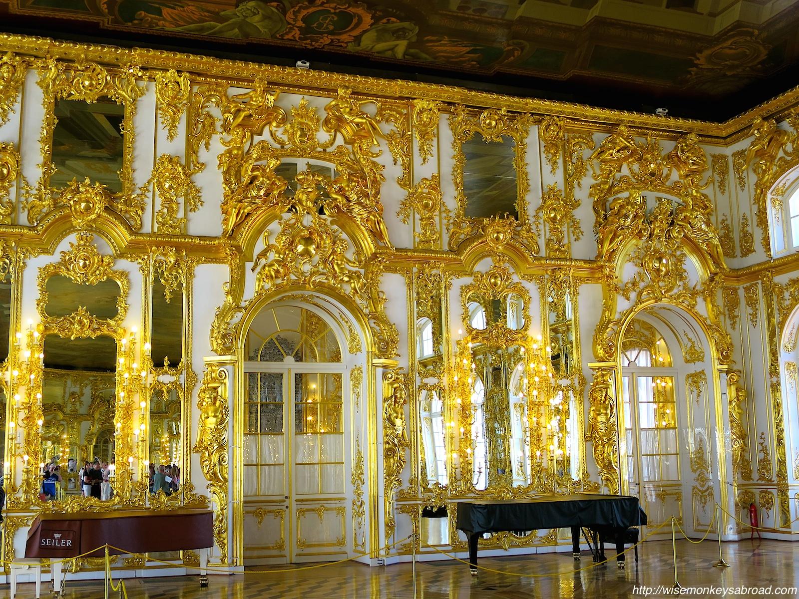 Peterhof Palace Wise Monkeys Abroad