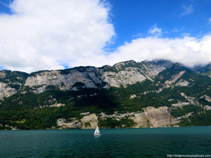 On Lake Walensee