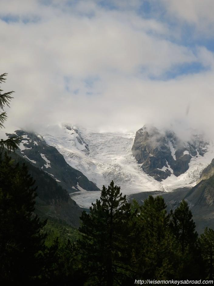 On the Bernina-Express to Tirano