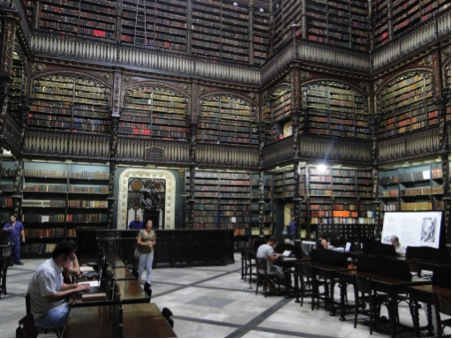 The Royal Portugese Reading Room